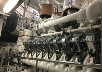 Feadship 88m main engine