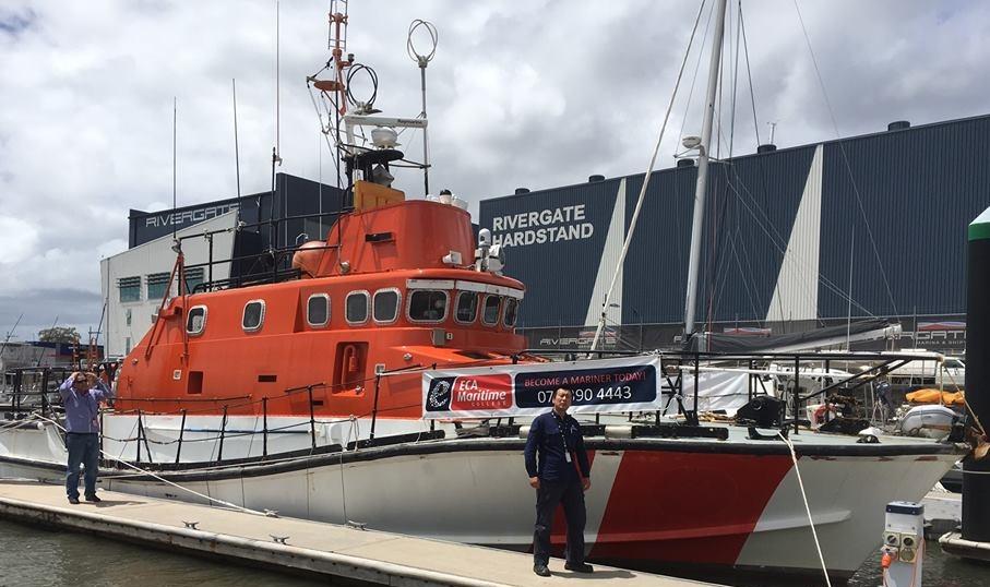 ECA training vessel