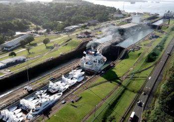 Yacht Express Panama Canal